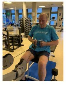review healthtime tevreden sporter klant man pulley seated row