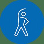 kerngebied van gezondheid: beweging