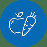kerngebied van gezondheid: voeding